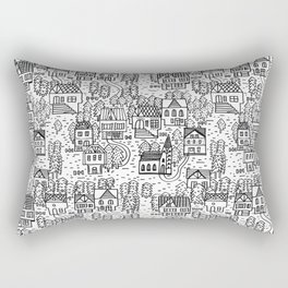 Tirol houses Rectangular Pillow