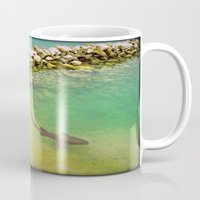 sharks Mugs featuring Sharks by FortuneArt&Photography