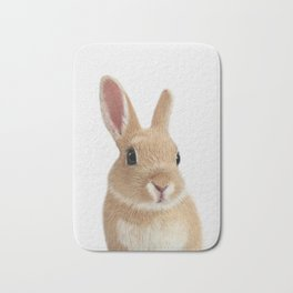 Bunny rabbit print Bath Mat