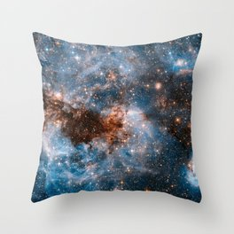 Into The Storm, Galaxy Background, Universe Large Print, Space Wall Art Decor, Deep Space Poster Throw Pillow