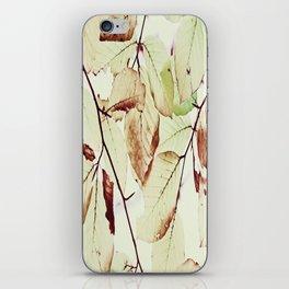 Leaves in October iPhone Skin