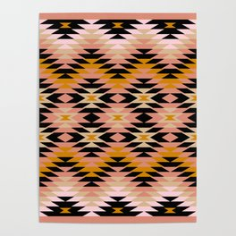 New Mexico in Blush Poster