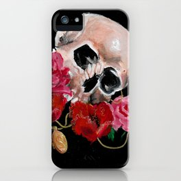 Cherished dead iPhone Case