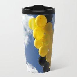 Yellow Black Ballons Travel Mug