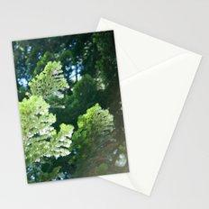 Green Pine Tree Needles (Lake Tahoe, California) Stationery Cards