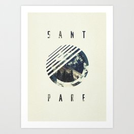 Sant_Pare Art Print