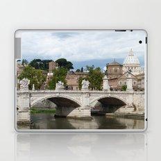 Vittorio Emanuele II bridge and Vatican city Laptop & iPad Skin