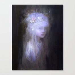 The Girl Canvas Print