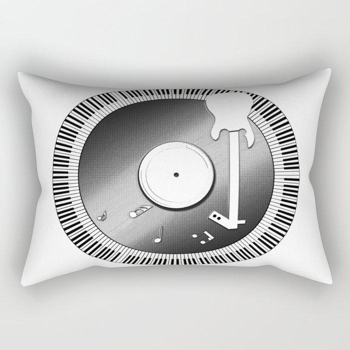 Pay Homage to Music Rectangular Pillow