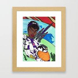 Space Explorer Framed Art Print