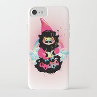 gnome iPhone & iPod Cases featuring Whistling gnome by Meni Tzima