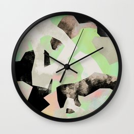 Camouflage VII Wall Clock