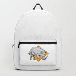 Rhino Yellow Backpack