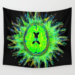 Brain storm Wall Tapestry