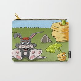 Rabbit and carrot Carry-All Pouch
