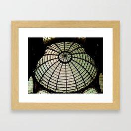 Postcards from Italy: Galería Umberto I Framed Art Print