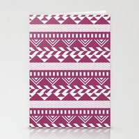 bands Stationery Cards featuring Tribal Bands by stephaniemichalko