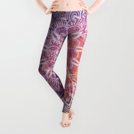 Large Mandala Leggings