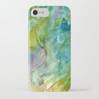 stained glass iPhone & iPod Cases featuring Stained Glass by Rosie Brown