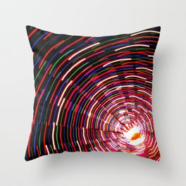Christmas Lights, part 2 Throw Pillow