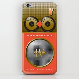 the Nakashuma Mark 2 in Coral iPhone Skin