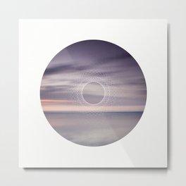 Where the sky touches the sea Metal Print