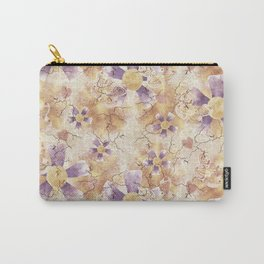 Aged Flower Clowns Carry-All Pouch