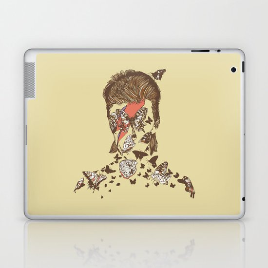 FACES OF GLAM ROCK Laptop & iPad Skin