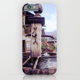 Fountain of Saint Véran iPhone Case