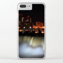 High Falls Clear iPhone Case