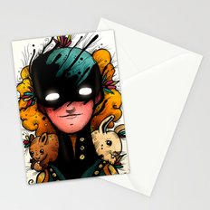 Guardians of the Woods (Color Version) Stationery Cards