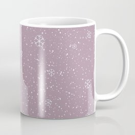 Purple Winter Coffee Mug