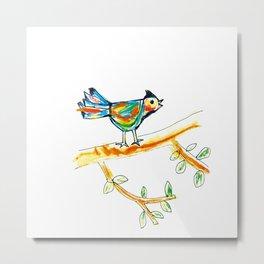 Singing bird 1 Metal Print