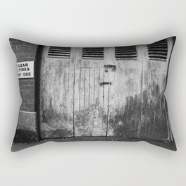 Keep Clear At All Times Rectangular Pillow