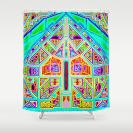 Game of Time Shower Curtain