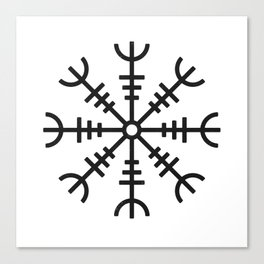 Aegishjalmur Canvas Print