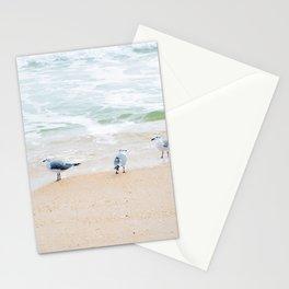 Beach Birds Stationery Cards