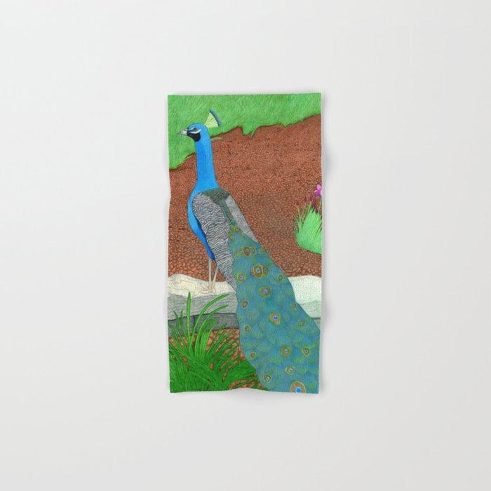 Arboretum Peacock Hand & Bath Towel