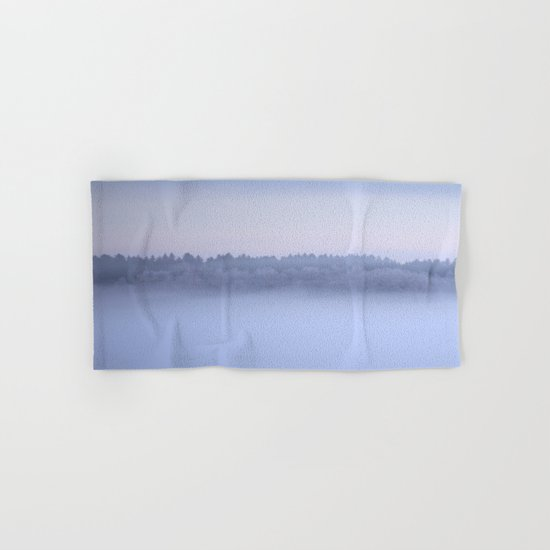 Foggy Blue Hour Hand & Bath Towel