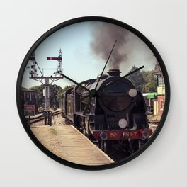 S15 at Horsted Keynes Wall Clock