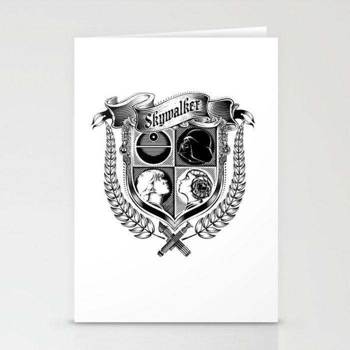 Family Coat of Arms Stationery Cards