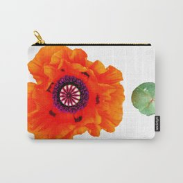Orange et grrr Carry-All Pouch