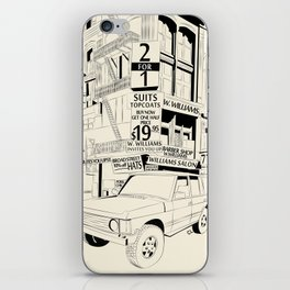 Untiled iPhone Skin
