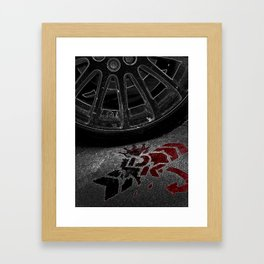 Urban Car photography 2 Framed Art Print