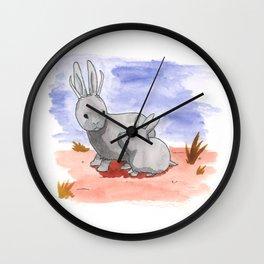 Pygmy Jackalopes Wall Clock