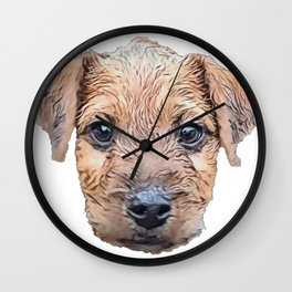 Dog Lakeland Terrier dog breed Lake District hypo-allergenic Wall Clock