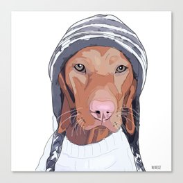 Vizsla Dog Canvas Print