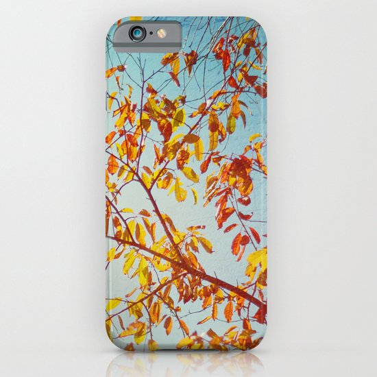 textured leaves. iPhone & iPod Case