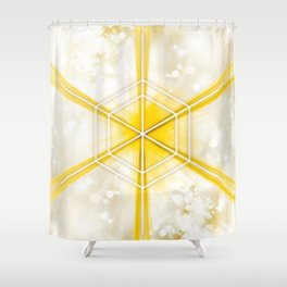 Expanded Shower Curtain
