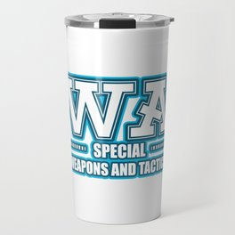 SWAT police special forces command Travel Mug
